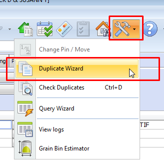 Duplicate Wizard in CAMAvision