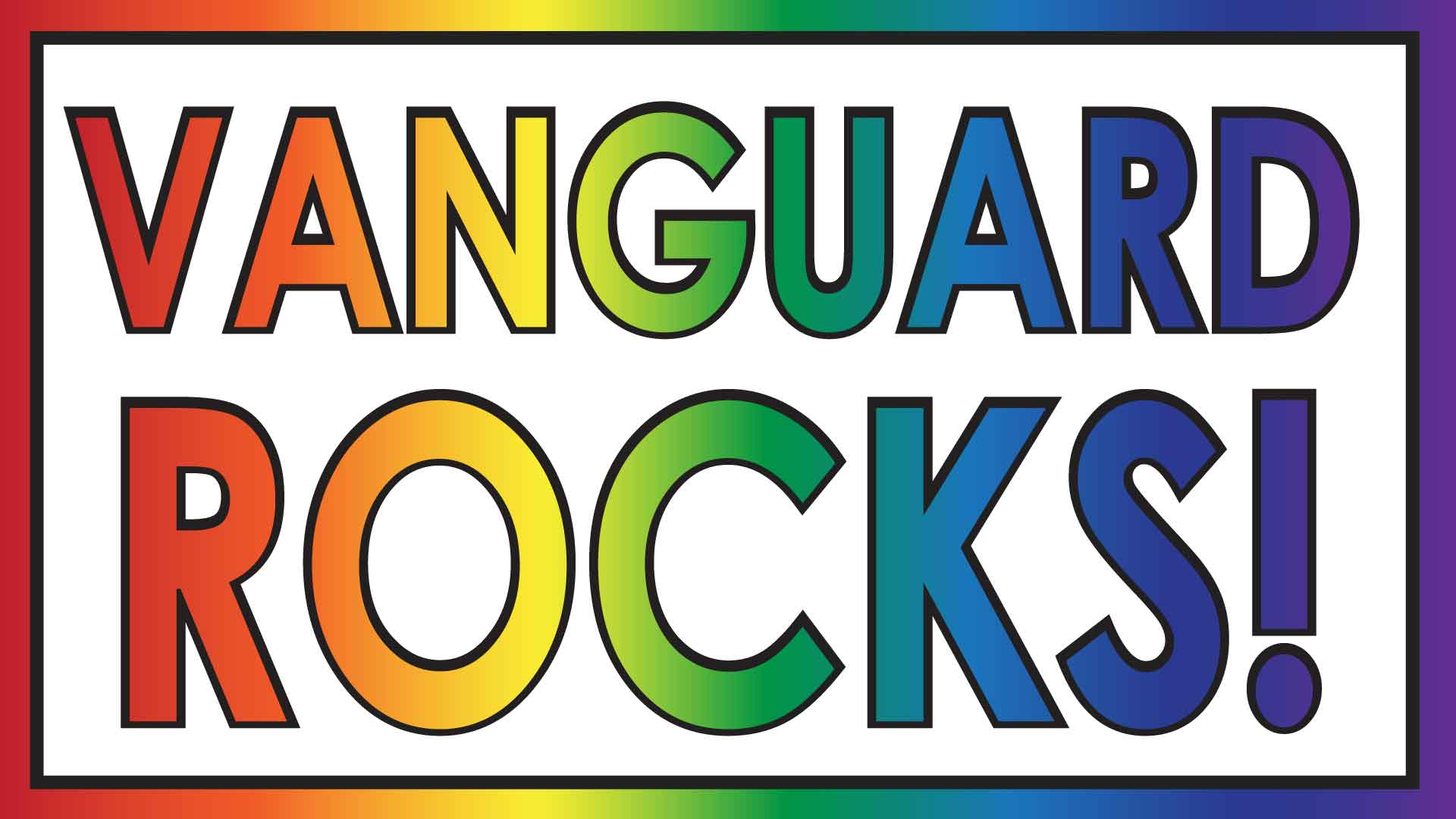 Vanguard Rocks: Rainbow Banner