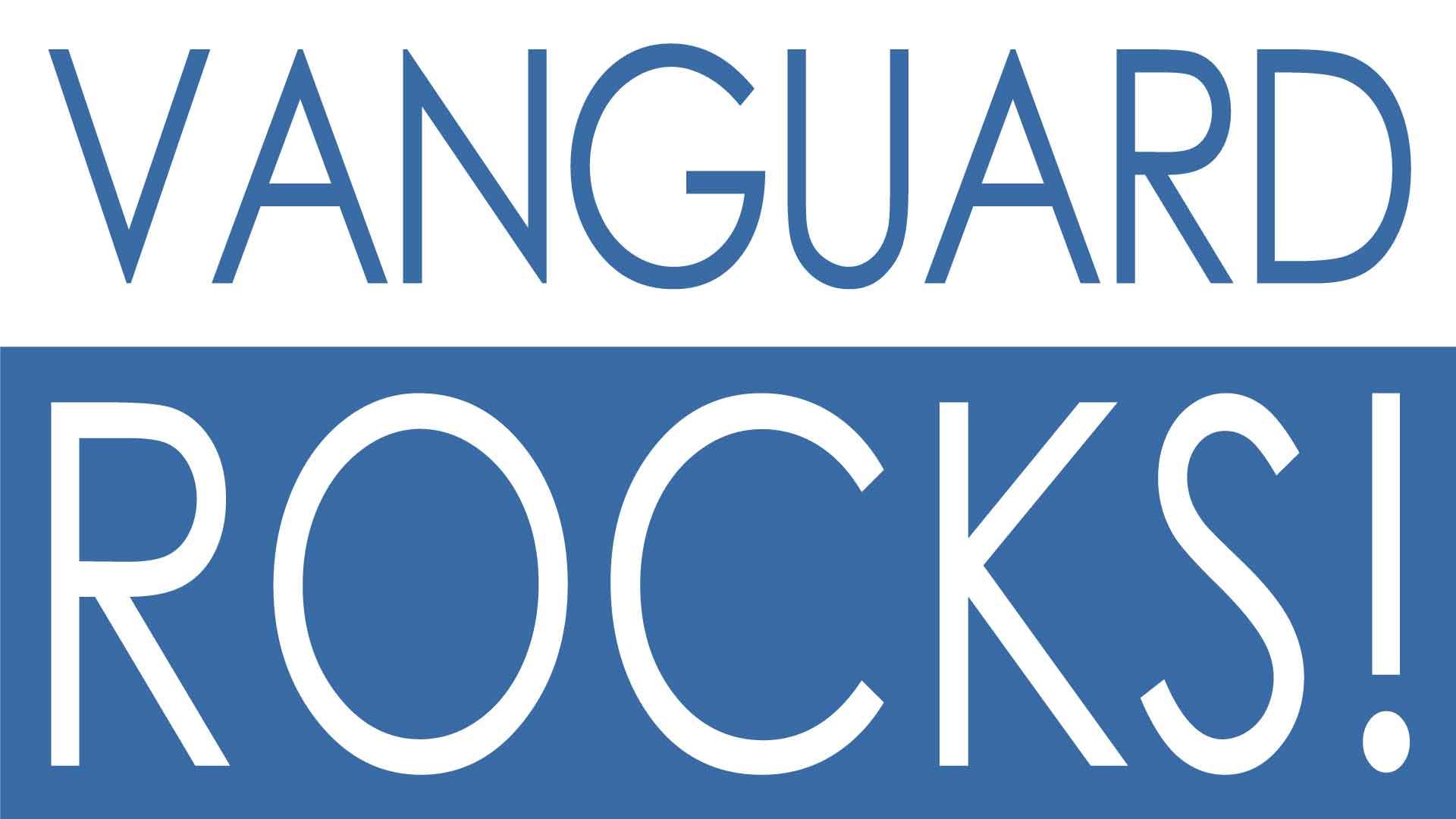 Vanguard Rocks: Simple Banner