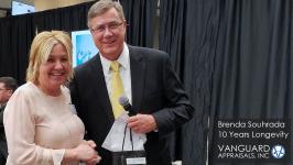2020 Longevity Award Brenda Souhrada