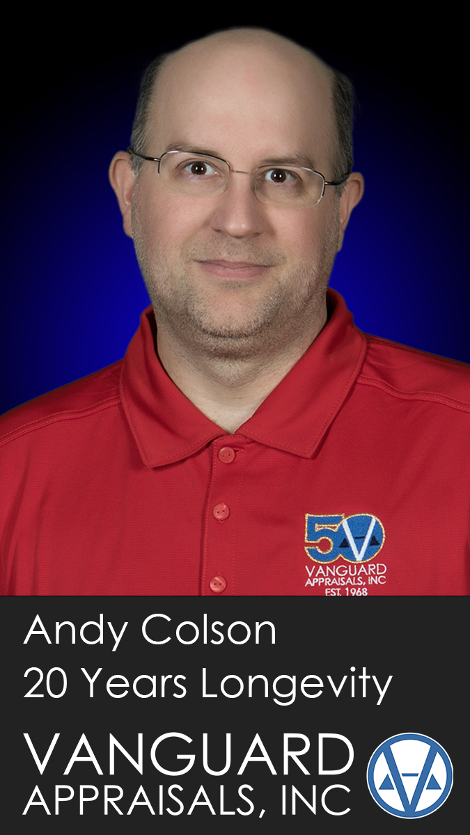 2020 Longevity Award Andy Colson
